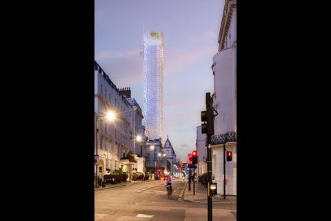 Renzo Piano's original proposal - the Paddington Pole